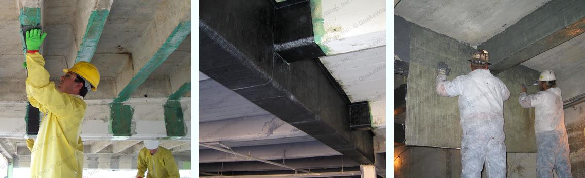 strengthening rcc structure using composite fibre wraps construction essay Strengthening of reinforced concrete bridge columns with as reinforced concrete columns confined by fiber strengthening efficiency of composite wraps.